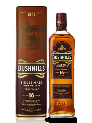 Bushmills 16 YO Single Malt