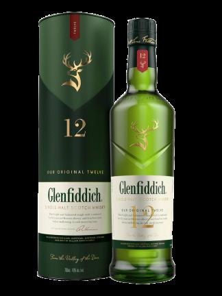 Glenfiddich Single Malt Scotch Whisky Aged 12 Years