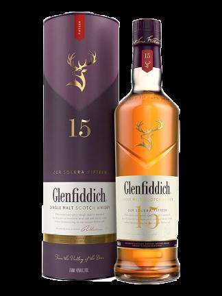 Glenfiddich Single Malt Scotch Whisky Aged 15 Years