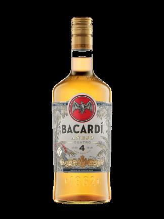 Bacardi Anejo Quattro