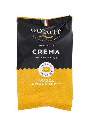 CCaffe Кафе капсули Crema съвместими със система A Modo Mio, 10 бр.