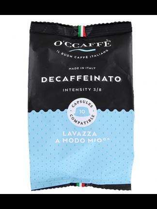 CCaffe Кафе капсули Decaffeinato съвместими със система A Modo Mio, 10 бр.