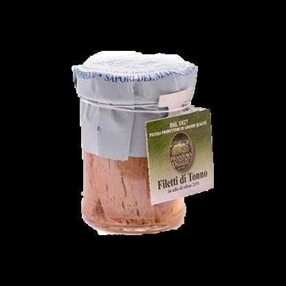 FRANTOIO Риба тон в маслиново масло, 185 гр.