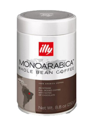 Illy Monoagarbica Brazil - кафе на зърна - 0,250кг
