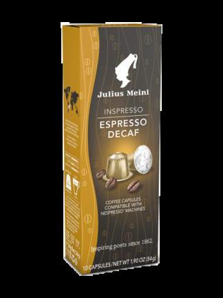 Julius Meinl Inspresso Decaf - капсули съвместими с Nespresso - 10 брoя