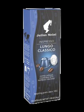 Julius Meinl Inspresso Lungo Classico - капсули съвместими с Nespresso - 10 брoя