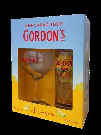 Gordon's London Dry 0.7 подарък Копа чаша