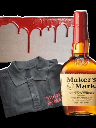 Maker's Mark с поло шърт на цена 56 лв.в подаръчна кутия